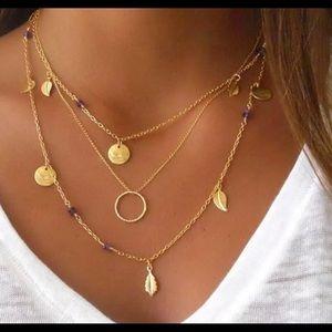 NEW Boho Layered Necklace